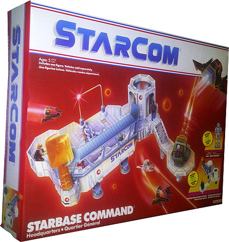 StarCom Starbase Command Headquarters Vintage 1986 Collectible MISB New AFA IT