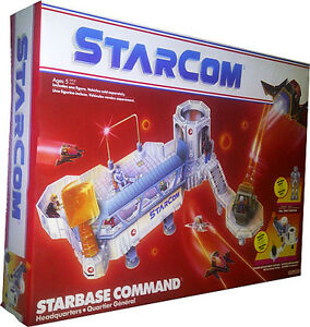 Quartier général du Starcom Starbase Command Vintage 1986 à collectionner Misb New Afa It !!   76930013915