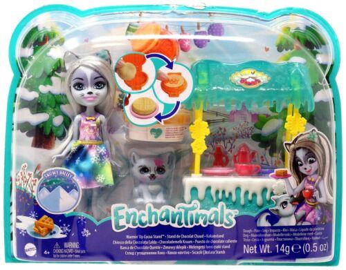 Enchantimals Warmin/' Up Cocoa Stand Playset