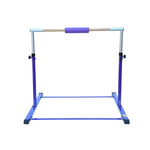 Adjustable Horizontal High Bars Gymnastics Kids Bar Home Gym Training UK