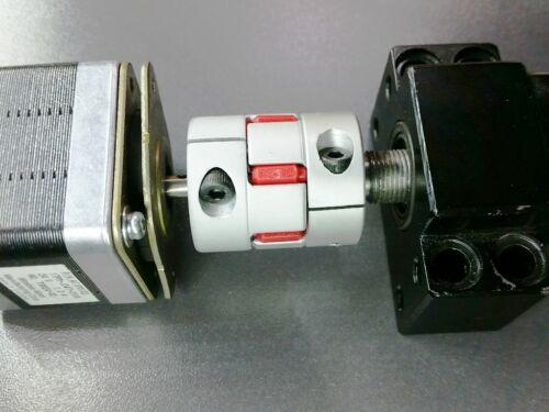 6mm x 11mm Flexible Jaw Spider Shaft Coupling Coupler CNC Plasma Stepper Motor