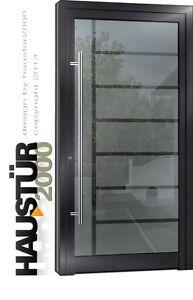 Aluminium Haustur Glas Tur Alu Hausturen Nach Mass Mod Ht 5482 Ral
