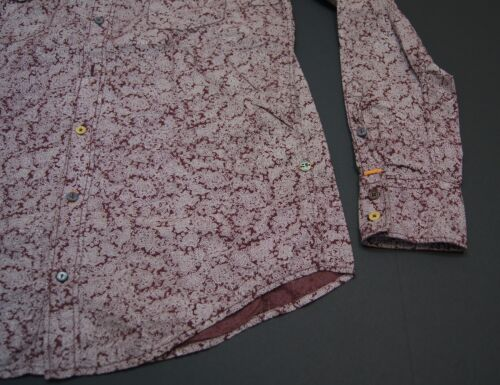 BOSS ORANGE by HUGO BOSS /'Addaie/' Slim Fit Paisley Print Sport Shirts NWT $145