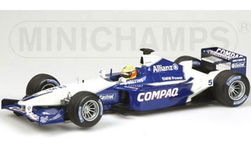 MINICHAMPS 100 010025 WILLIAMS BMW FW23 F1 model car Ralf Schumacher 2001 1 18th