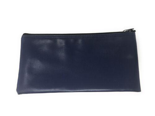 "Bank Deposit Money Cash Coins Credit Cards Receipts Keys Bag Pouch Purse 11x5.5/"""