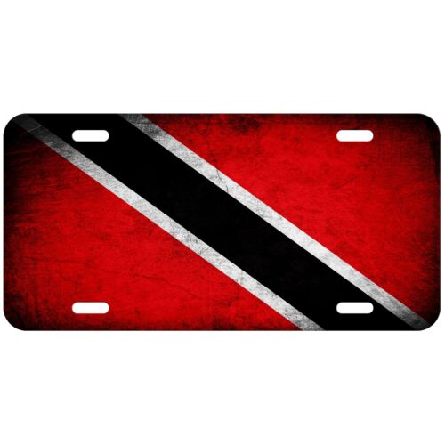 Flag of Trinidad /& Tobago License Plate Choose your design