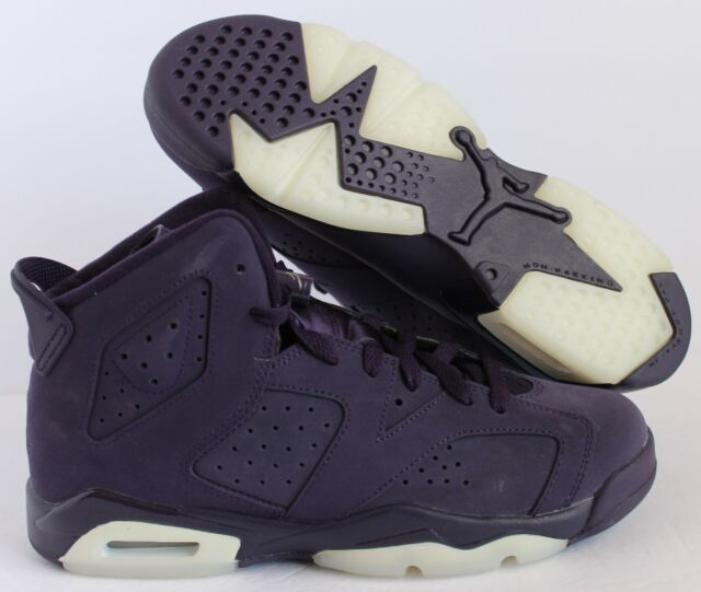 san francisco 7eb61 540b1 NIKE AIR JORDAN 6 RETRO GG PURPLE DYNASTY SZ 6.5Y-WOMENS SZ 8