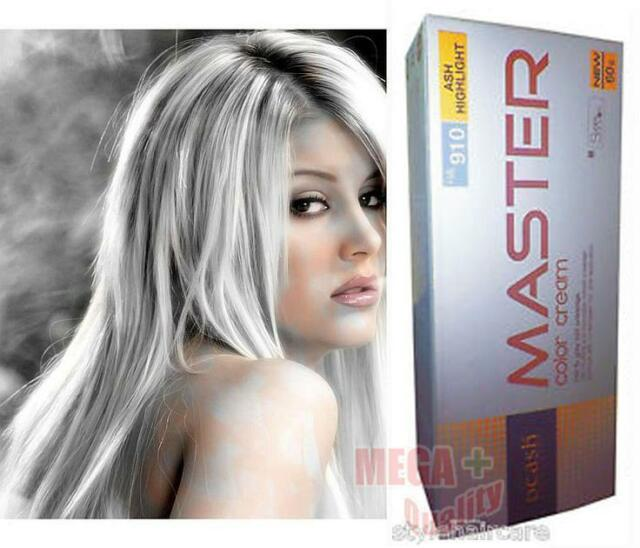 Dcash Permanent Hair Dye Color Cream Super Ha 910 Ash Gray Highlight