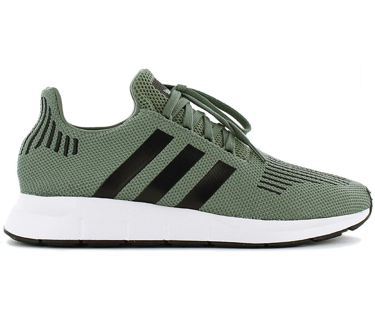 Adidas Originals Swift Run Zapatillas Estilo Deportivas para Hombre CG4115 verde