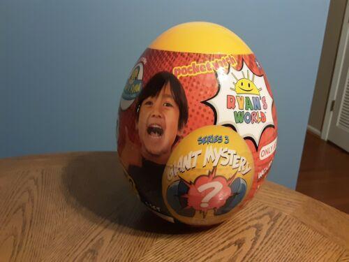 Ryan's World Giant Mystery Egg Target Exclusive New Series 3 Orange
