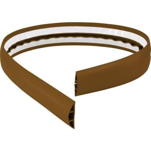 Tru components ponte passacavi pvc marrone numero canali 1 1800 mm contenuto
