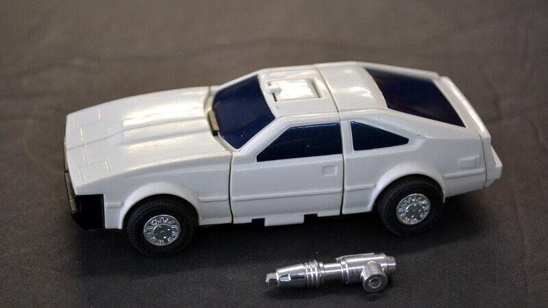 descuento Vintage 1985 acelarador Figura de de de Transformers G1 con un arma-transforma muy bien  alta calidad general