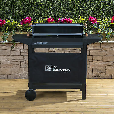 Fire Mountain Deluxe Trolley Charcoal Barbecue - Portable BBQ