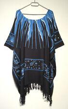 No Secret Shirt Tunika schwarz weiß gestreift Patches Gr 44 46 48 50 52 54 56