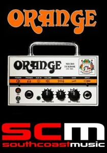 MT20 Orange Micro Terror Amplifier 20W Hybrid Guitar Amp Head