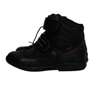 Bottes-Courtes-de-Moto-Impermeable-Chaussures-de-Tourisme-de-Moto