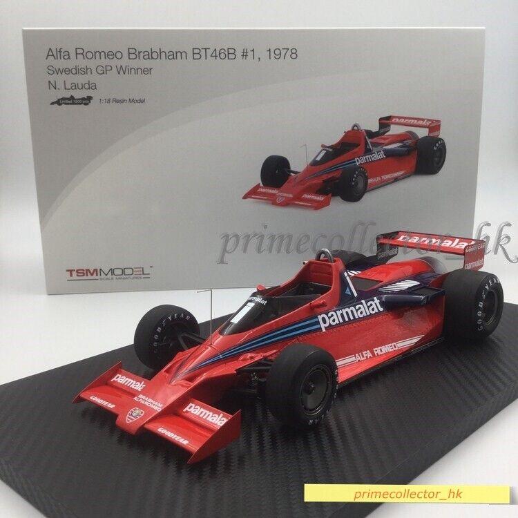 TSM 1 18 Alfa Romeo BT46B Swedish GP Winner TSM151803R