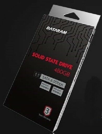 DATARAM 480GB 2.5 SSD Drive Solid State Drive Compatible with HP PROBOOK 440 G3