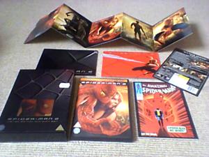 Spider-Man-2-Limited-Edition-UK-DVD-Gift-Set-2004-Marvel-Comics-Saim-Raimi-EX