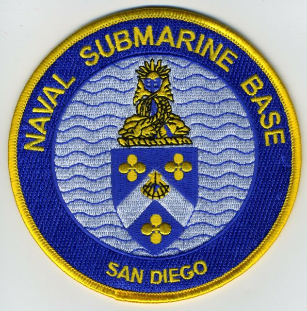 San Diego Naval Submarine Base BC Patch Cat No C5544