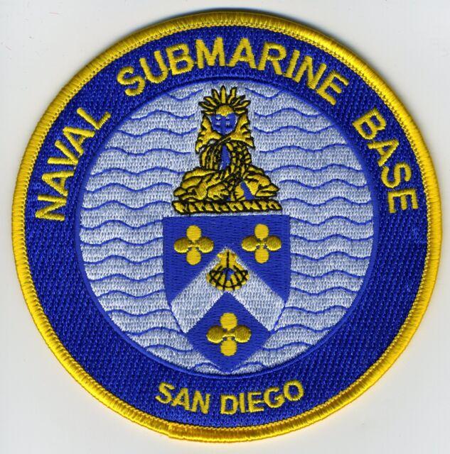 San Diego Naval Submarine Base BC Patch Cat No C5544