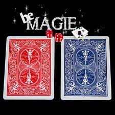 Carte Spéciale Bicycle - dos Bleu / dos Rouge - Tour de magie