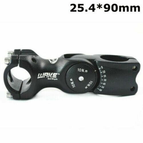 WAKE 31.8//25.4 110mm MTB Mountain Road Bike 60° Adjustable Rise Handlebar Stem