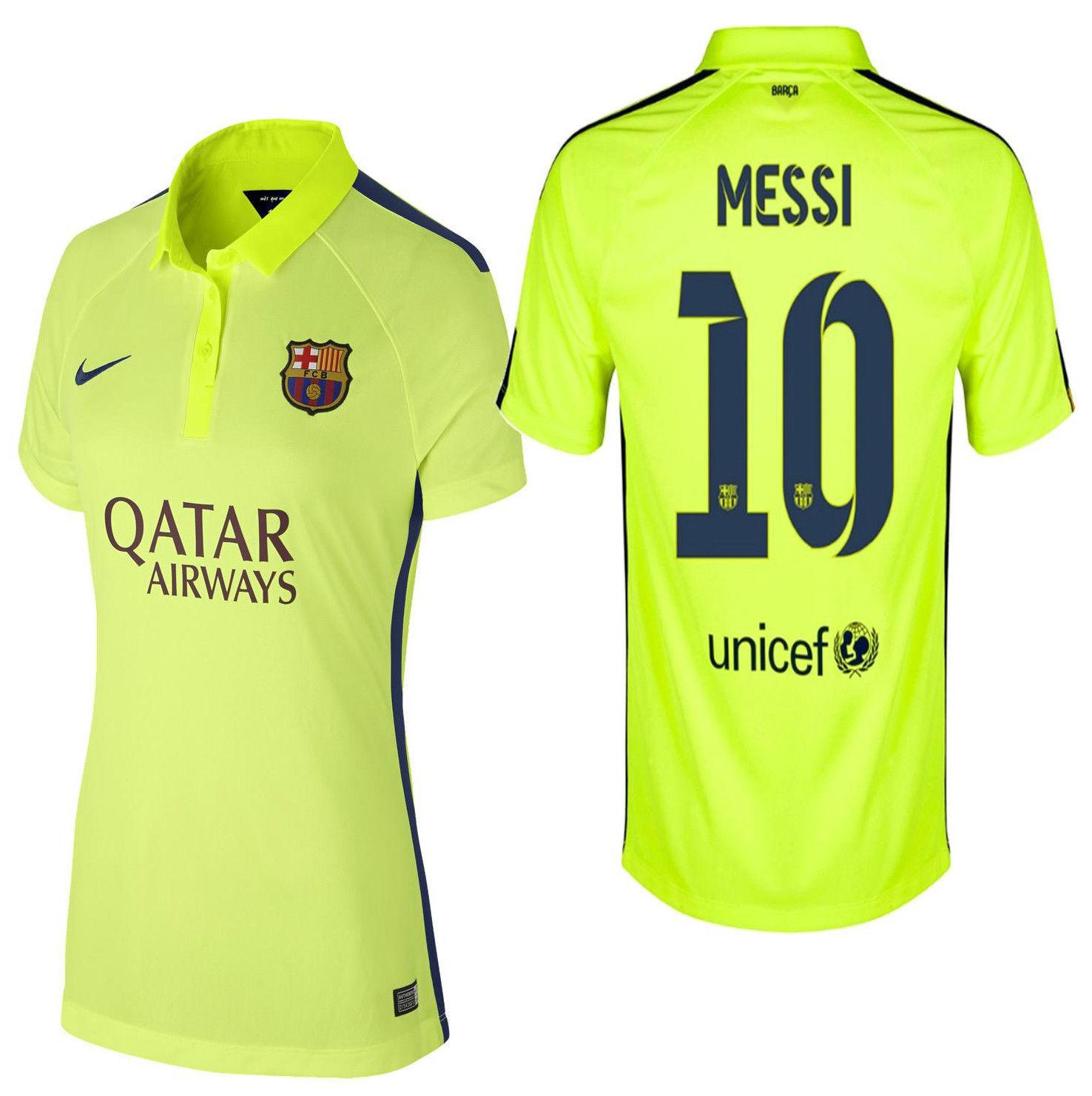 2014 Maillot Messi Fc Nike Troisième Barcelone Lionel Femme UqvxnB8zw
