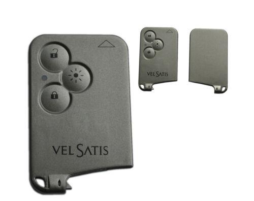 card mapa clave carcasa card Remote a231 Renault vel satis luz tecla 3t