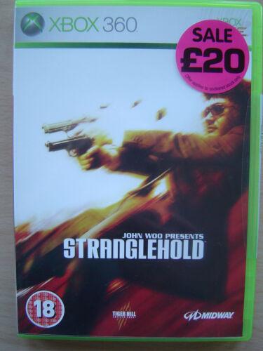 1 of 1 - John Woo Presents Stranglehold (Microsoft Xbox 360, 2007)