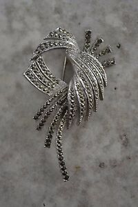 Large Sphinx signed brooch
