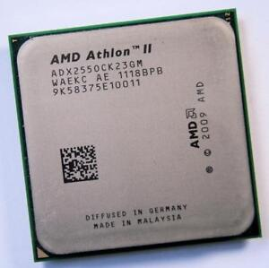 AMD-Athlon-II-ADX255OCK23GM-Dual-Core-3-1GHz-Socket-AM2-AM3-CPU-Prozessor