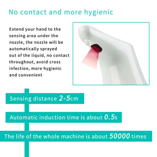 Induction Auto Spray Alcohol Disinfection Machine Hand Cleaner Sterilization