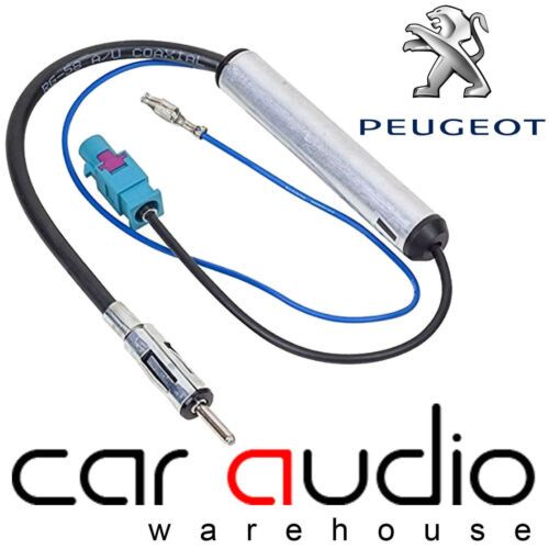 PC5-137 PEUGEOT PARTNER Car Stereo Radio Amplified Booster Fakra Aerial Antenna