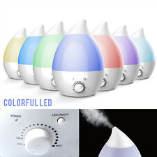1.3L Ultrasonic Air Humidifier Steam Aroma Vaporiser Diffuser Purifier Mist