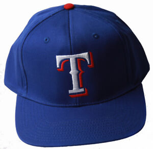 Texas-Rangers-MLB-Snapback-Adjustable-Hat-Blue-Includes-GT-Wristband