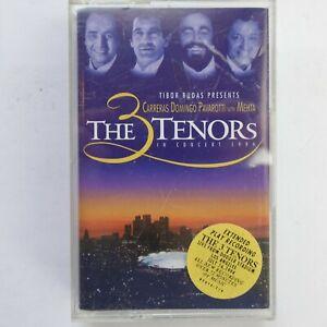3 Tenors In Concert 1994 Carreras Domingo Pavarotti (Cassette)