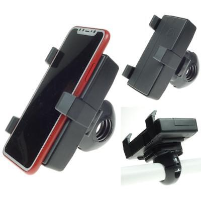 Apple Iphone Bici Manubrio Mount Holder Clip-german Made By Herbert Richter- Fabbriche E Miniere