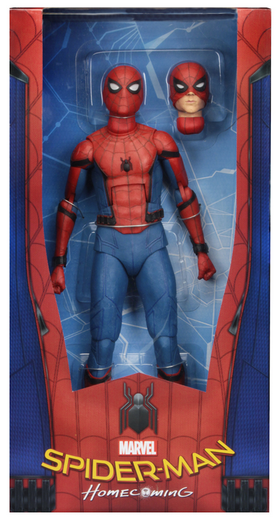 Marvel Neca Spider-Man Homecoming 1 4 Scale Action Figure