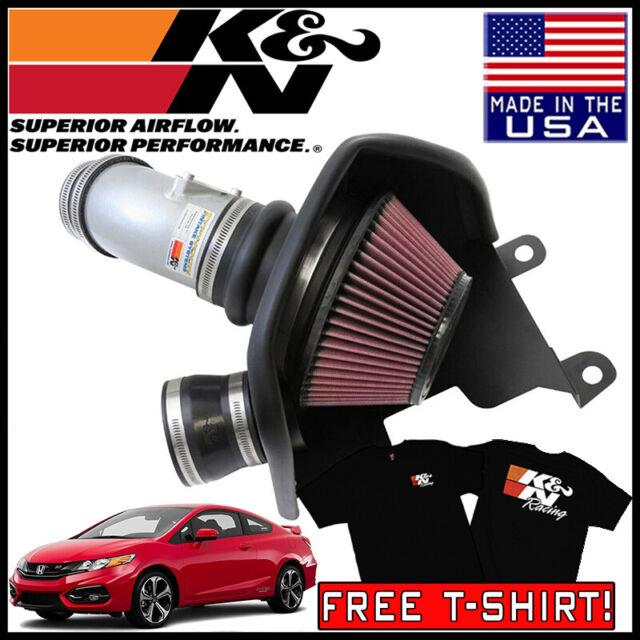 K/&N 69-1212TS Hi-Perf Air Filter Intake Kit