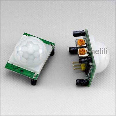 2pcs Infrared PIR Motion Sensor Module HC-SR501 for Arduino Raspberry Pi