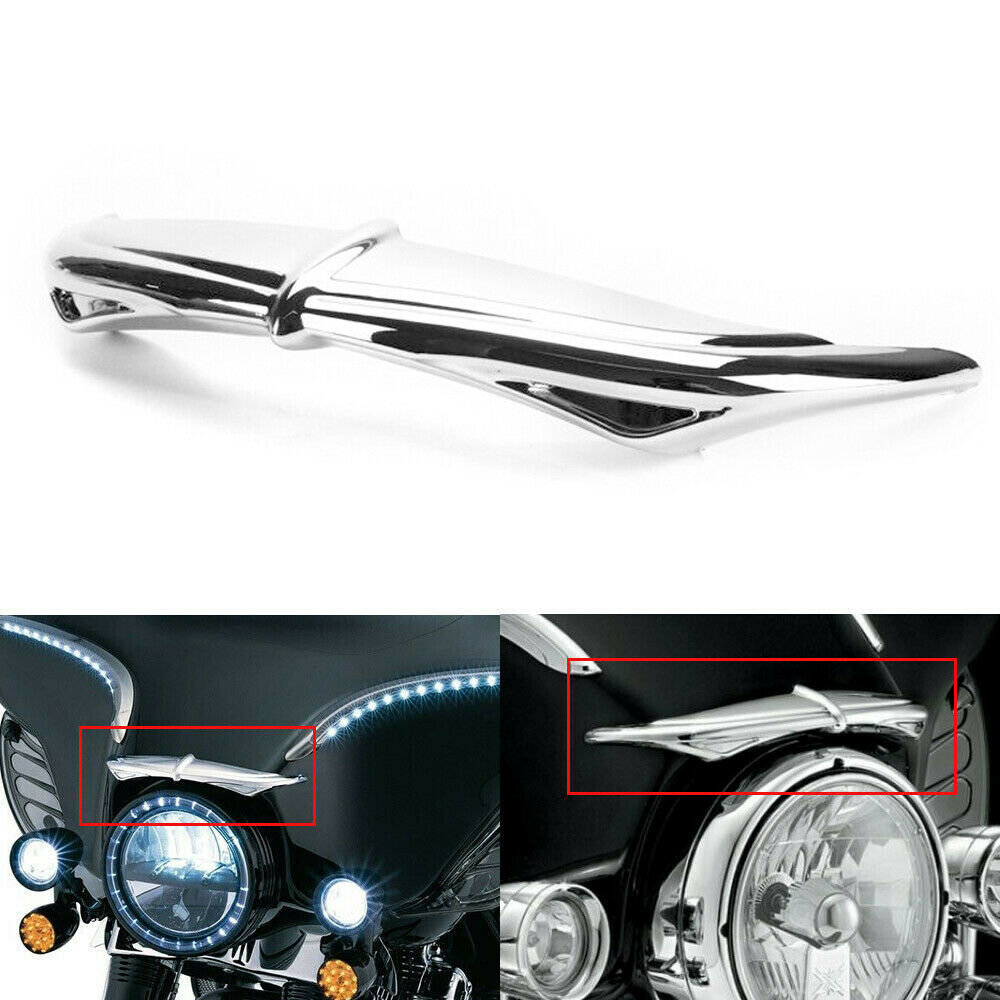 1pc Tach Brow Trim for 1996-2013 Harley Davidson Touring Inner Fairings