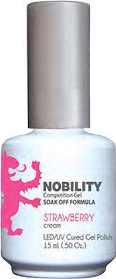 LeChat Nobility LED/UV Cured Gel Polish Strawberry 15ml (.5oz) - NBGP75