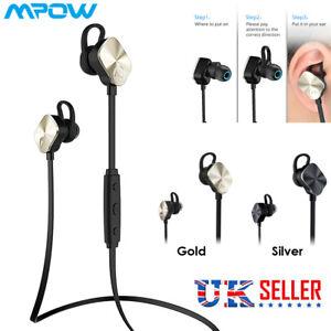 f10187adb53 Mpow Wolverine Bluetooth 4.1 Wireless Stereo Earphone In-Ear Sport ...