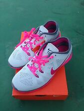 Nike Fit free 5.0 Authentic (gray,pink)sizes 6.5, 7, 7.5