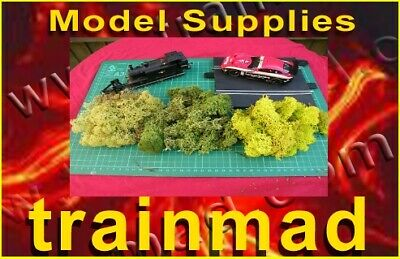 Premium trainmad scenery moss P Y O COLOURS Model tree train HORNBY PECO rail