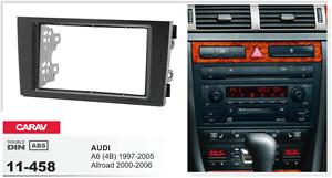 CARAV-11-458-2Din-Marco-Adaptador-de-radio-para-AUDI-A6-4B-Allroad