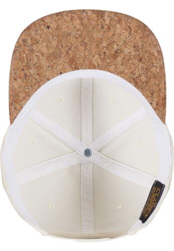 FLEXFIT ® CORK SNAPBACK CAP Kork Mütze Urban Classics Baseball Kappe Yupoong Hat
