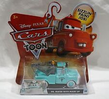 Disney Pixar Cars Toon Series Dr. Mater With Mask Up #29 Die Cast Car NEW 2009