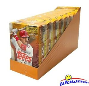 2020-Topps-Series-2-Baseball-EXCLUSIVE-Hanger-Case-8-Factory-Sealed-Box-536-Card